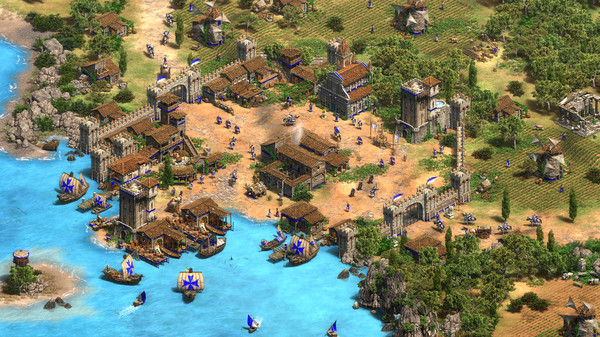 Скриншот №4 к Age of Empires II Definitive Edition - Lords of the West