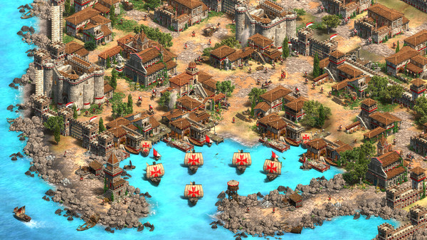 Скриншот №5 к Age of Empires II Definitive Edition - Lords of the West