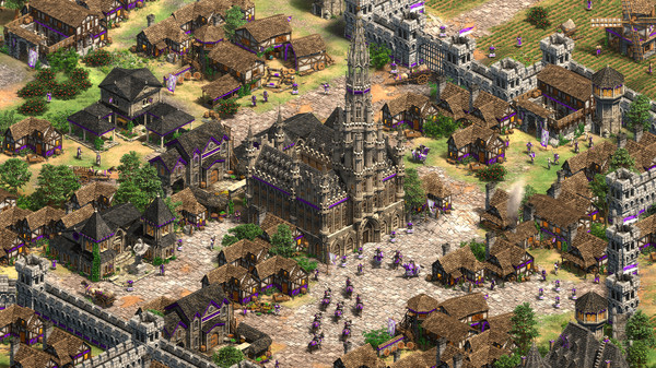 Скриншот №2 к Age of Empires II Definitive Edition - Lords of the West