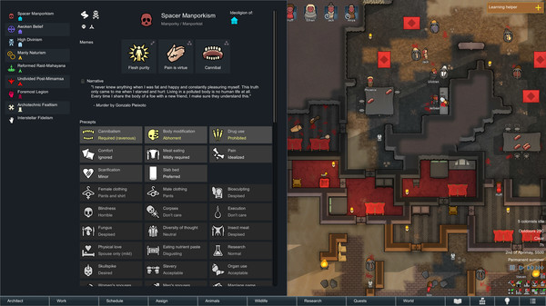 Скриншот №4 к RimWorld - Ideology