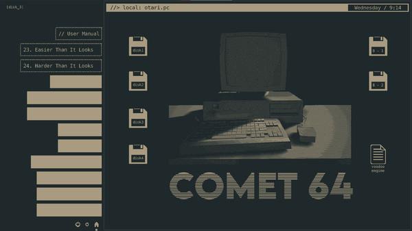 Comet 64 screenshot