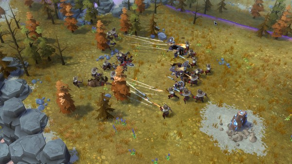 Скриншот №5 к Northgard - Brundr  Kaelinn Clan of the Lynx