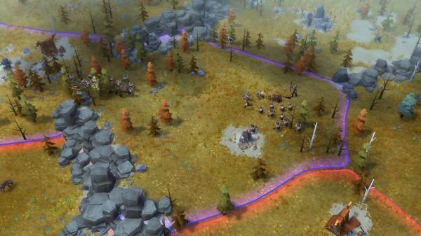 Скриншот №7 к Northgard - Brundr  Kaelinn Clan of the Lynx