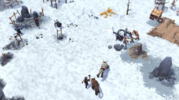 Скриншот №4 к Northgard - Brundr  Kaelinn Clan of the Lynx