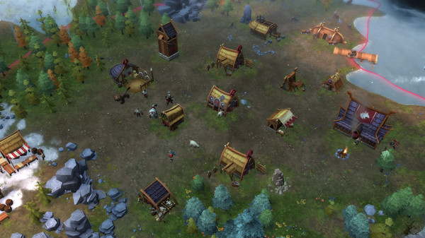 Скриншот №2 к Northgard - Brundr  Kaelinn Clan of the Lynx