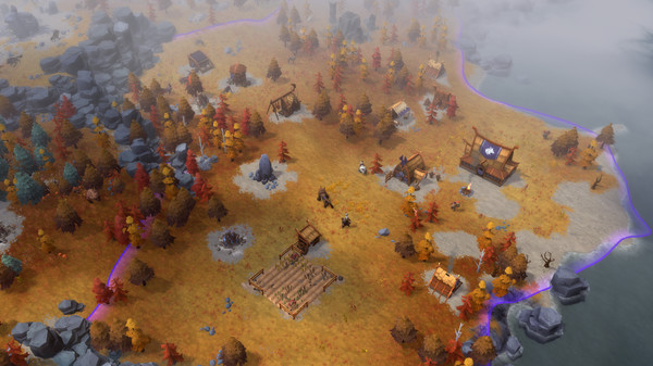 Скриншот №3 к Northgard - Brundr  Kaelinn Clan of the Lynx
