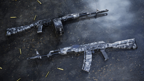 Скриншот №5 к Insurgency Sandstorm - Urban Digital Weapon Skin Set