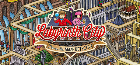 Labyrinth City: Pierre the Maze Detective Cover Image