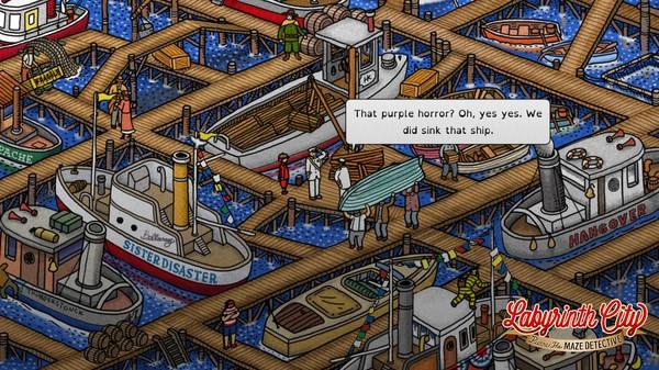 Labyrinth City: Pierre the Maze Detective Screenshot 4