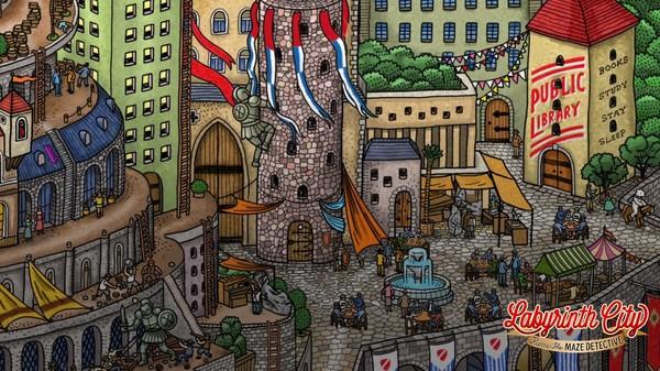 Labyrinth City: Pierre the Maze Detective Screenshot 7