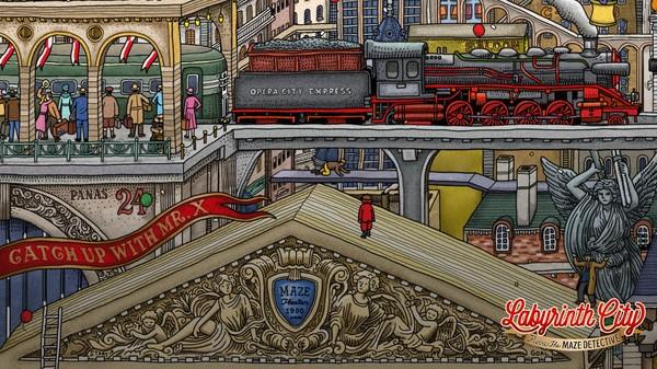 Labyrinth City: Pierre the Maze Detective Screenshot 1