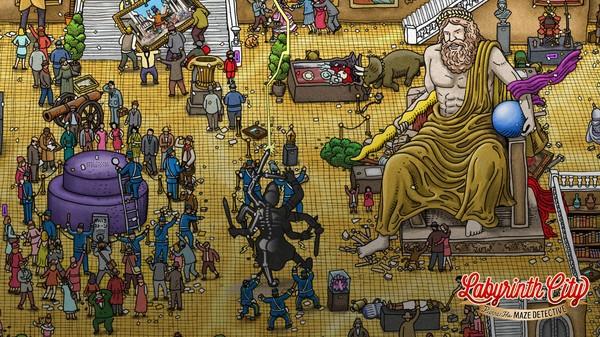 Labyrinth City: Pierre the Maze Detective Screenshot 6