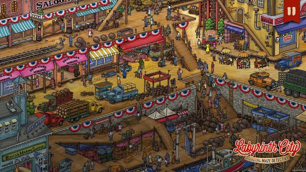 Labyrinth City: Pierre the Maze Detective Screenshot 2