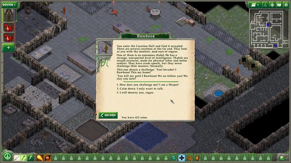 Screenshot of Geneforge 1 - Mutagen