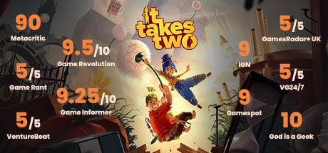 It Takes Two (Xbox One + Xbox Series) Гарантия ⭐