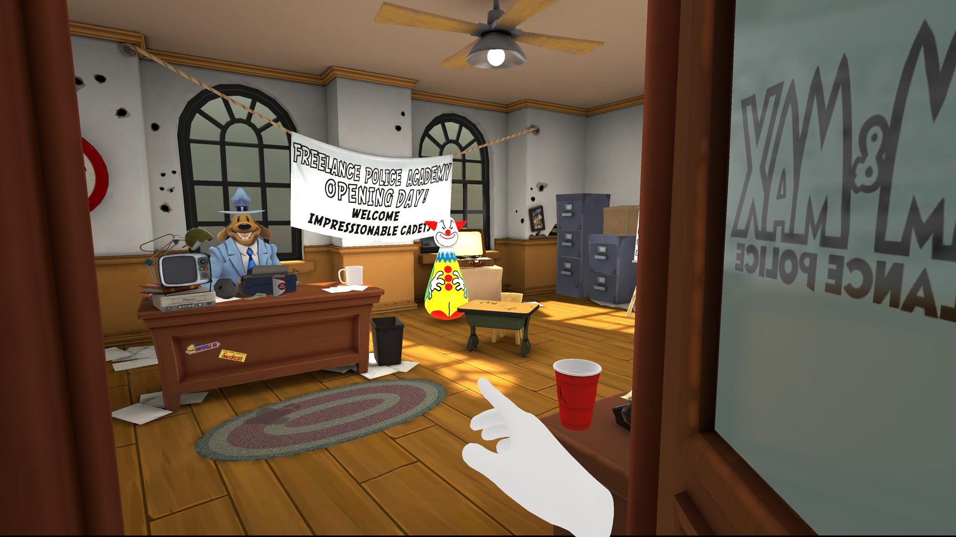 """La demo de """"Sam & Max: This Time It's Virtual!"""" est disponible sur Steam"""