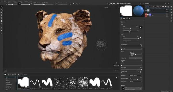 Substance Painter 2021 screenshot