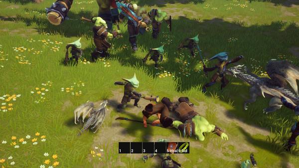 Скриншот из A Dragon's Hoard