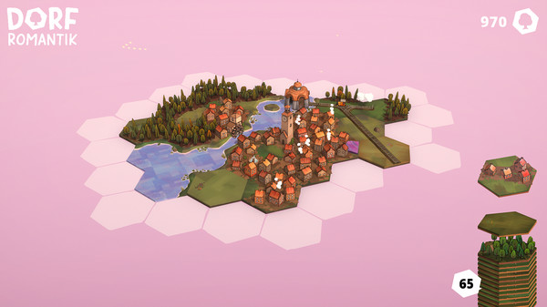 Dorfromantik screenshot