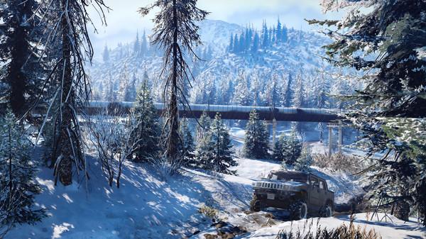 SnowRunner скриншот