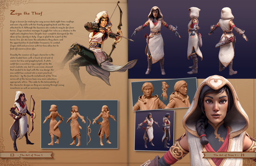 скриншот Trine 4: The Nightmare Prince - The Art of Trine 4 (Artbook) 1