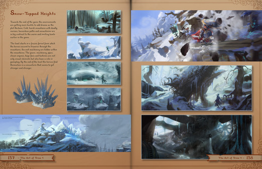 скриншот Trine 4: The Nightmare Prince - The Art of Trine 4 (Artbook) 5