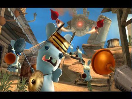 Rayman Raving Rabbids скриншот