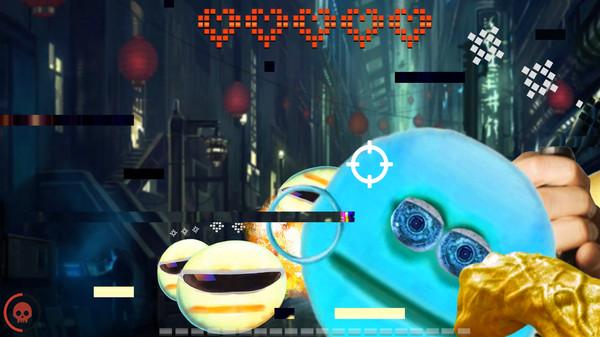 Screenshot of CYBER EMOJI TALE 2099