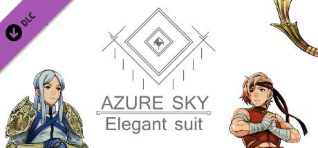 Azure Sky - Elegant suit