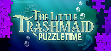 The Little Trashmaid Puzzletime Cover Image