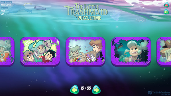 The Little Trashmaid Puzzletime screenshot