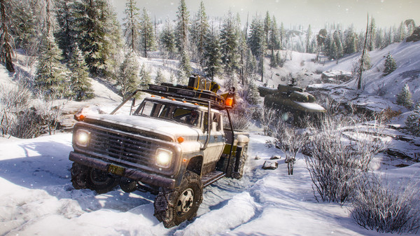 Скриншот №3 к SnowRunner - Season 1 Search  Recover