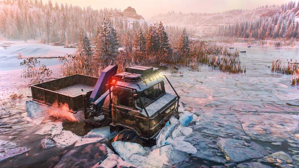Скриншот №1 к SnowRunner - Season 1 Search  Recover