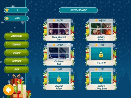 Скриншот из Christmas Griddlers Journey to Santa