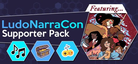 LudoNarraCon Supporter Pack featuring Cyrano Cover Image