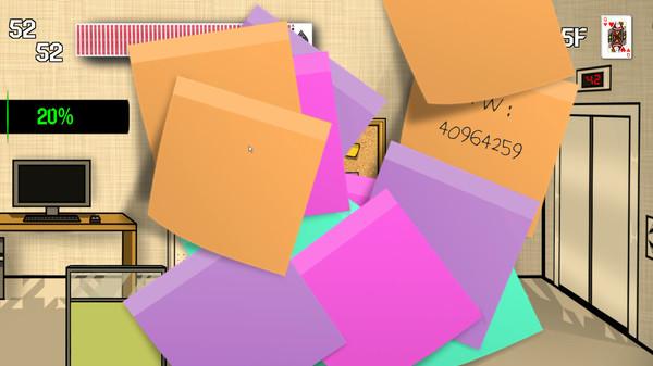 Screenshot of 세 장의 카드