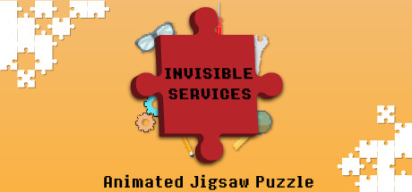 Invisible Services – Pixel Art Jigsaw Puzzle