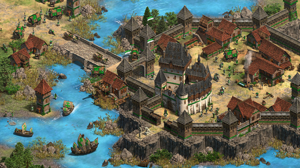 Скриншот №1 к Age of Empires II Definitive Edition - Dawn of the Dukes