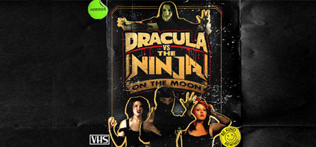 Dracula VS The Ninja On The Moon Cover Image