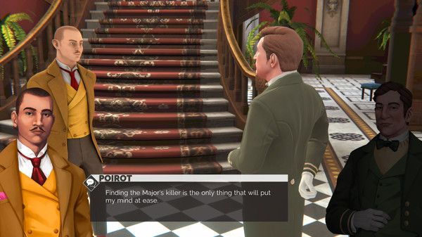 Скриншот №7 к Agatha Christie - Hercule Poirot The First Cases