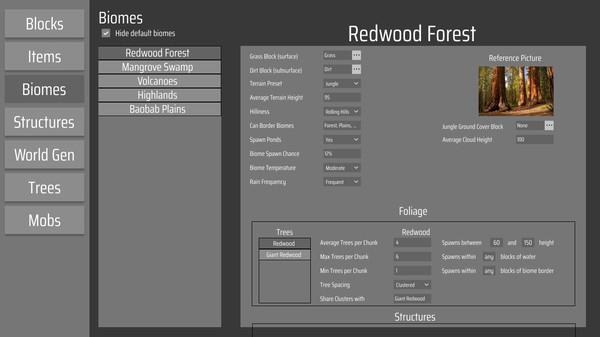 Скриншот №1 к MC Mod Maker