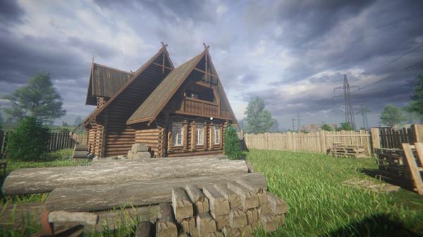 Скриншот из СИМУЛЯТОР ОДИНОЧЕСТВА В РУССКОЙ ДЕРЕВНЕ