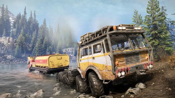 Скриншот №6 к SnowRunner - TATRA Dual Pack