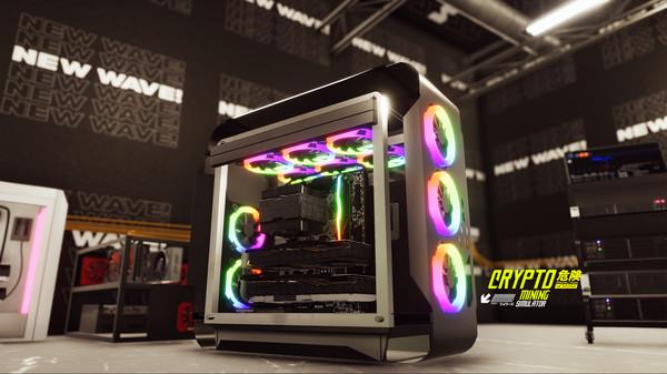 скриншот Crypto Mining Simulator 0