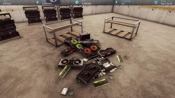 скриншот Crypto Mining Simulator 4
