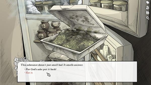 Screenshot of Scarlet Hollow