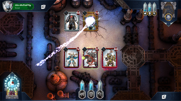 Warhammer Combat Cards screenshot