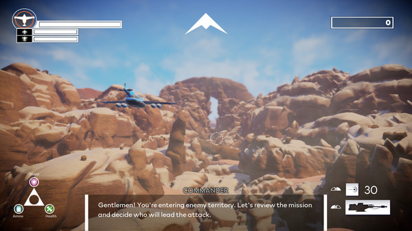 Aces in the Dust Screenshot 1