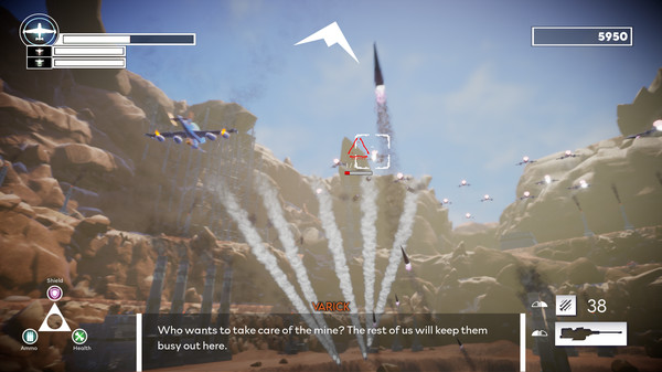 Aces in the Dust Screenshot 2
