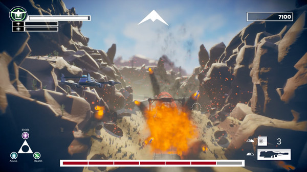 Aces in the Dust Screenshot 6
